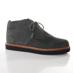 Mia Heritage Shoes - Mia Heritage Gray Suede Camryn Chukka Boots 8.5